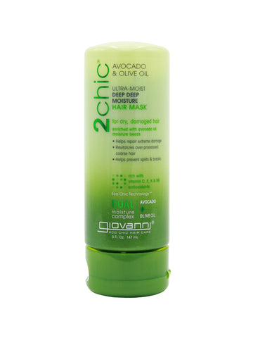 Giovanni 2Chic® Avocado & Olive Oil Ultra-Moist Deep Deep Moisture Hair Mask (5oz)