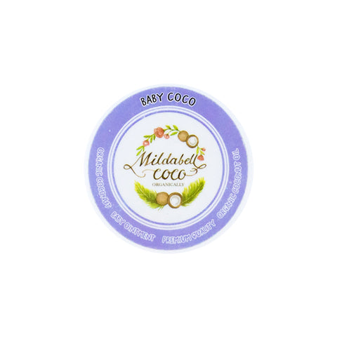 Mildabell Coco BABY COCO Baby Organic Coconut Baby Ointment (50ml)