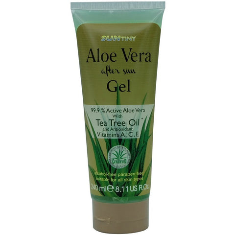 Sun Tiny Aloe Vera After Sun Gel with Tea Tree Oil (240ml)
