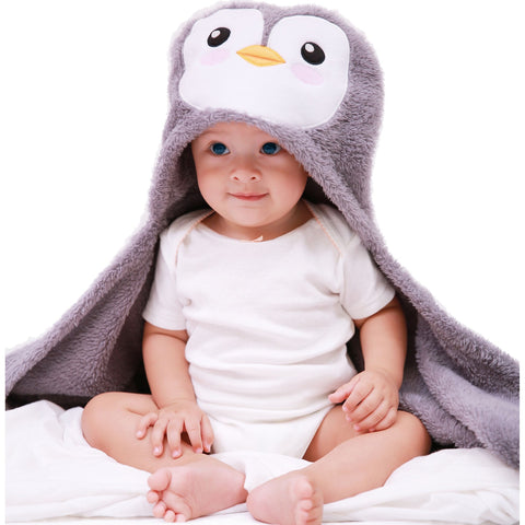 Puffguin 2 in 1 Blanket & Pillow - Organic Pavilion