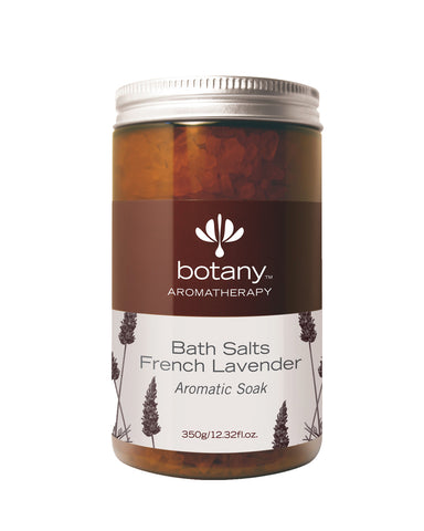 BUY 1 FREE 1 Botany Aromatherapy Bath Salts, French Lavender (2 x 330gm)