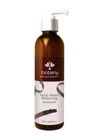 Botany Aromatherapy Body Wash, Balancing Sandalwood (255ml)