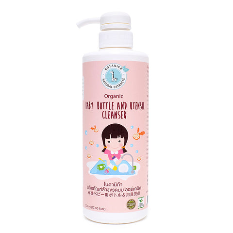Botanika Baby Bottle and Utensil Cleaner (500ml) - Organic Pavilion