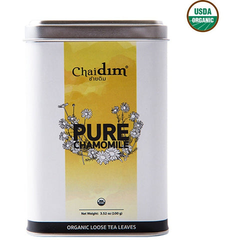 Chaidim Organic Pure Chamomile Loose Tea (100gm)