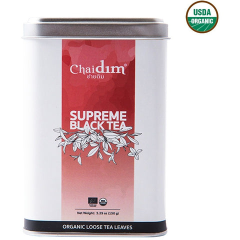 Chaidim Organic Supreme Black Tea Loose Tea (150gm)