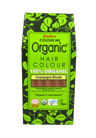 Radico Colour Me Organic Hair Colour Champagne Blonde (100gm)