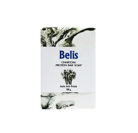 Belis Charcoal Protein Bar Soap (100gm)
