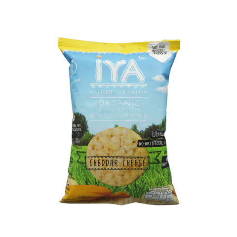 Iya Organic Brown Rice Cheddar Cheese Tasty (25g)