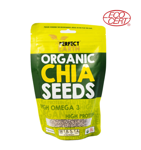 Perfect Earth Organic Chia (225gm) - Organic Pavilion