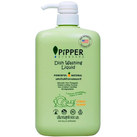Pipper Standard Dish Washing Liquid Citrus Scent (900ml)