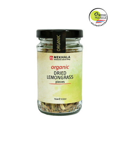 Mekhala Dried Lemongrass (15gm) - Organic Pavilion