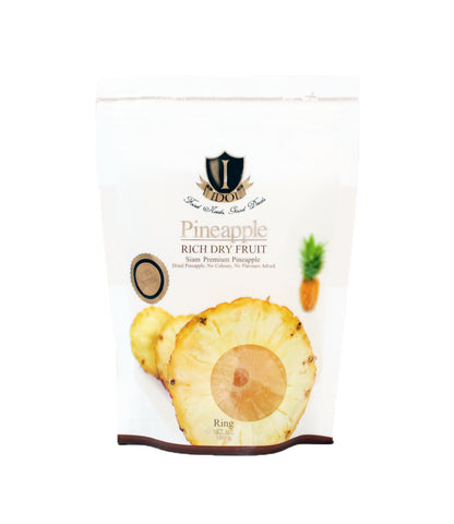 BUY 1 FREE 1 IDOL 100% Natural Rich Dry Fruit Premium Pineapple (2 Packets x 180gm)