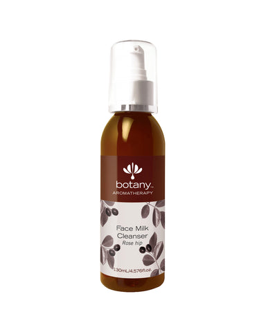 Botany Aromatherapy Face Milk Cleanser, Rose Hip (130ml)
