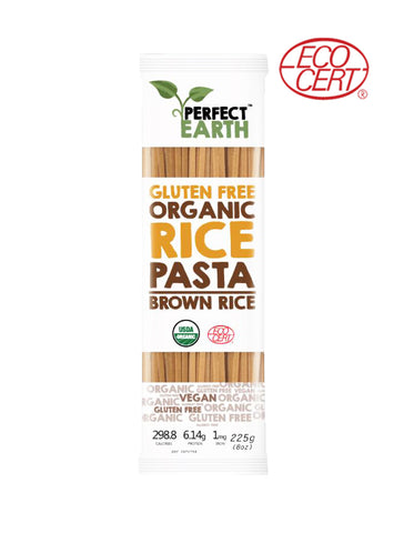 Perfect Earth Gluten Free Organic Pasta Brown Rice (225gm)