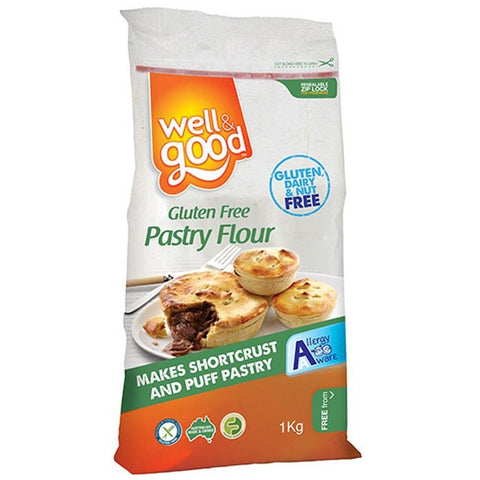 Well & Good Gluten Free Pastry Flour (1kg) - Organic Pavilion