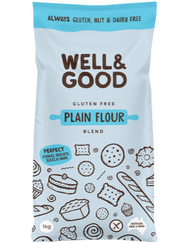 Well & Good Gluten Free Plain Flour (1kg)