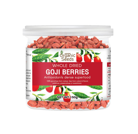 Organic Seeds Goji Berries (150gm)