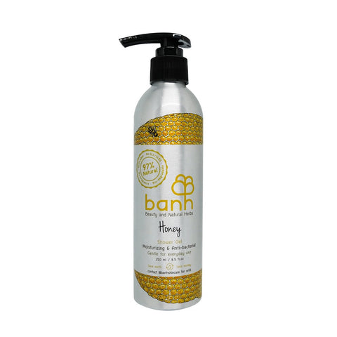 Banh Honey Shower Gel-Moisturizing & Anti-bacterial (250ml) - Organic Pavilion