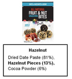The Squirrels Basket FITBALLS Dates Hazelnut Cacao (144g) - Organic Pavilion