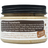 Hug Rice Coffee Bean Cream Scrub (150gm)