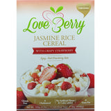 LoveBerry Jasmine Rice Cereal 120g (4 packs x 30gm)