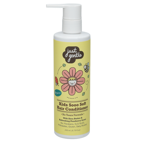 Just Gentle Kids Sooo Soft Hair Conditioner (200ml) - Organic Pavilion