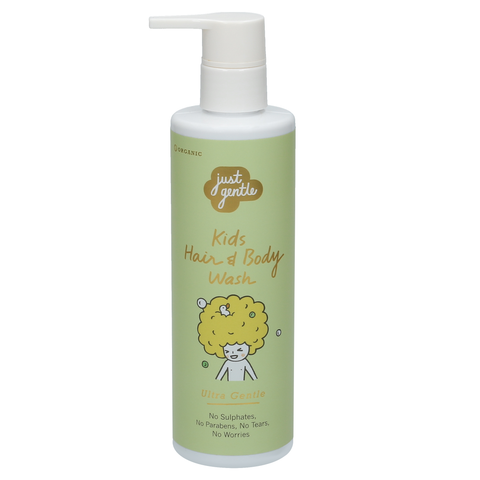 Just Gentle Kids Hair & Body Wash Pearberry Scent (200ml) - Organic Pavilion