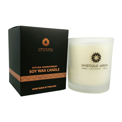 Mystique Arom Soy Wax Candle - Lemongrass Large (190g)