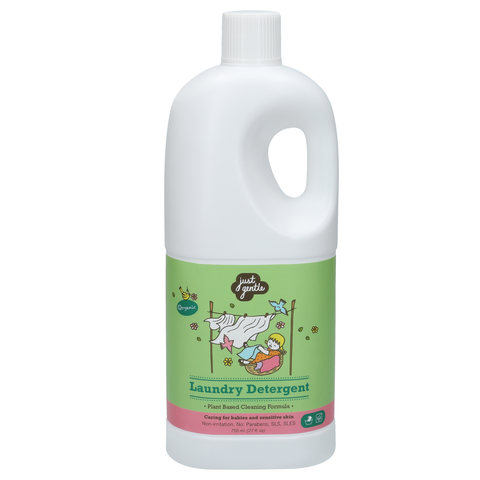 Just Gentle Laundry Detergent (750ml) - Organic Pavilion