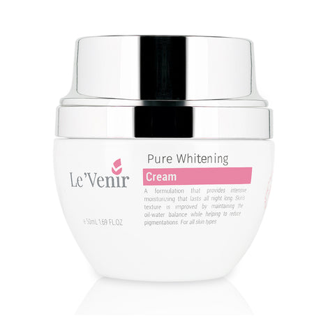 Le'Venir Pure Whitening Cream (50ml) - Organic Pavilion