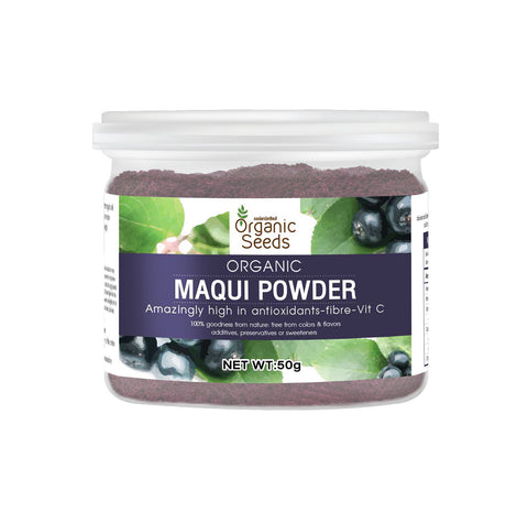 Organic Seeds Maqui Powder (50gm)