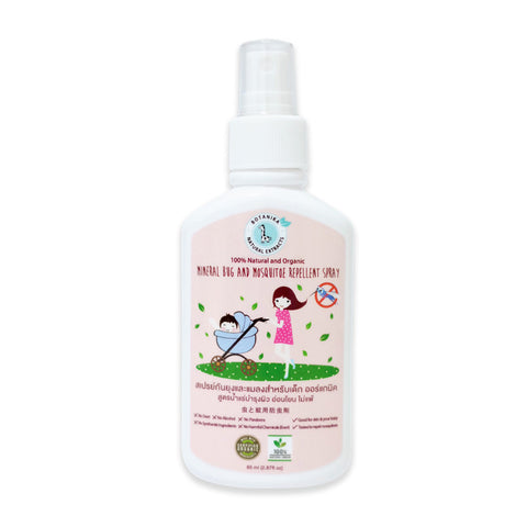 Botanika Mineral Bug and Mosquito Repellent Spray (85ml) - Organic Pavilion