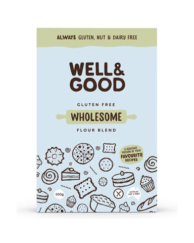 Well & Good Gluten Free Wholesome Flour Blend (400gm)