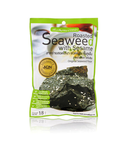 N2N Roasted Seaweed with Original Flavor Sheet (18gm) - Organic Pavilion