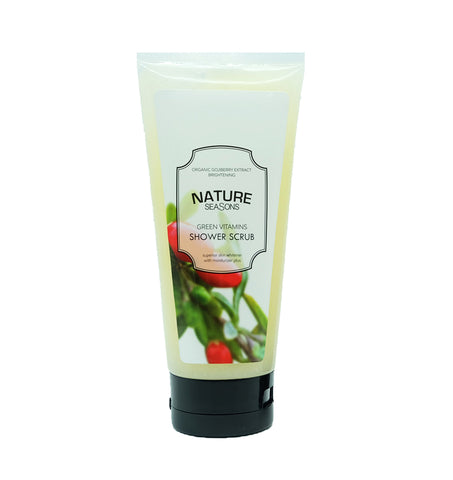 Nature Seasons Green Vitamins Shower Scrub (250gm)