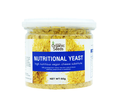 Organic Seeds Nutritional Yeast Flakes (50gm)