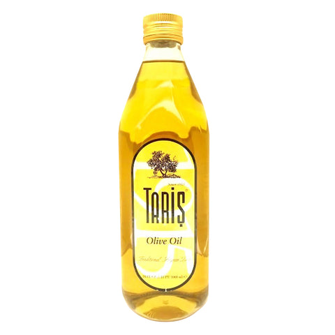 Taris Olive Oil Standard Glass Bottle Max Acidity 1% (1000ml) - Organic Pavilion