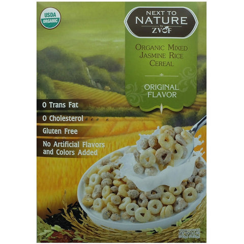 ZVOF Organic Mixed Jasmine Rice Cereal Original Flavour  (7 packs x 35gm)