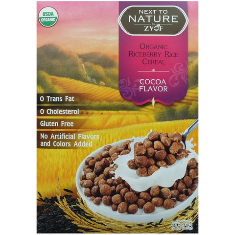 ZVOF Organic Riceberry Rice Cereal Cocoa Flavour  (7 packs x 35gm)