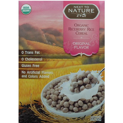 ZVOF Organic Riceberry Rice Cereal Original Flavour  (7 packs x 35gm)
