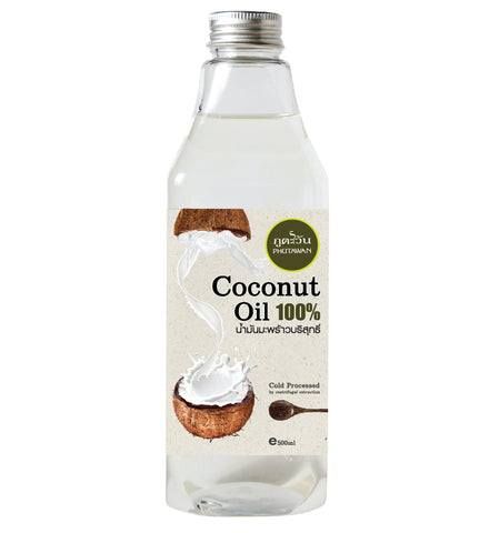 Phutawan 100% Coconut Oil (500ml)