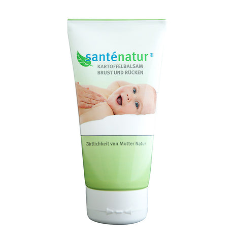 Santénatur Natural Potato Children Cream Chest and Back Cold time Balm (150ml)