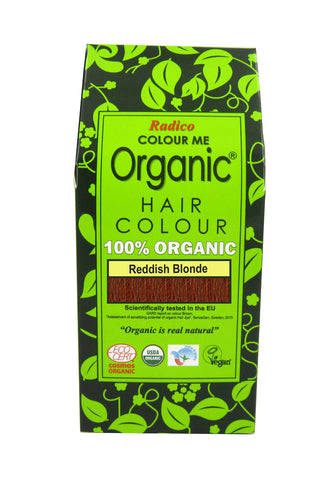 Radico Colour Me Organic Hair Reddish Blonde (100gm)
