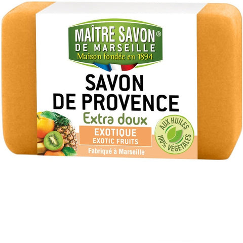 Maitre Savon de Provence Extra Soft Soap Exotic Fruit (100gm)