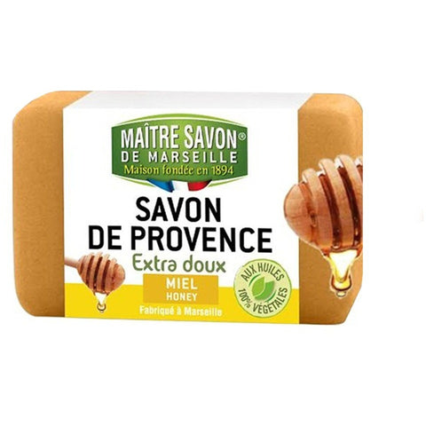 Maitre Savon de Provence Extra Soft Soap Honey (100gm)