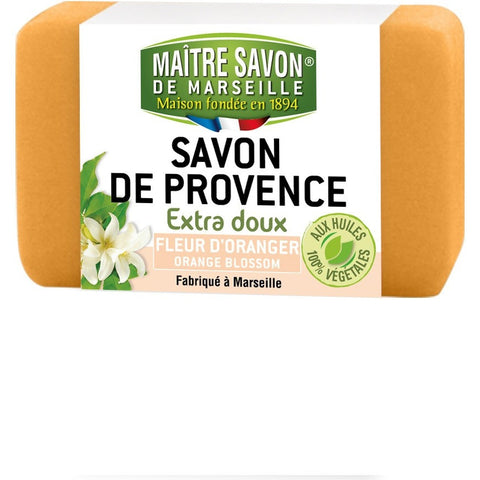 Maitre Savon de Provence Extra Soft Soap Orange Blossom (100gm)