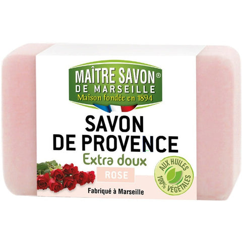 Maitre Savon de Provence Extra Soft Soap Rose (100gm)
