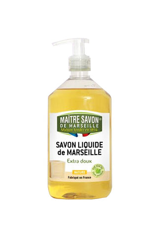 Maitre Savon Liquide de Marseille Liquid Soap Natural (500ml)