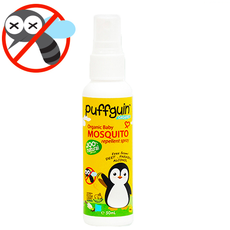 Puffguin Mosquito Repellent Spray (50 ml)