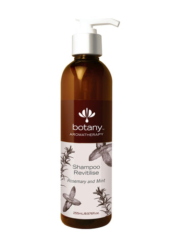 Botany Aromatherapy Shampoo, Revitilise Rosemary & Mint (255ml)